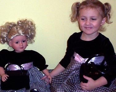 Rachel and her My Twinn Doll