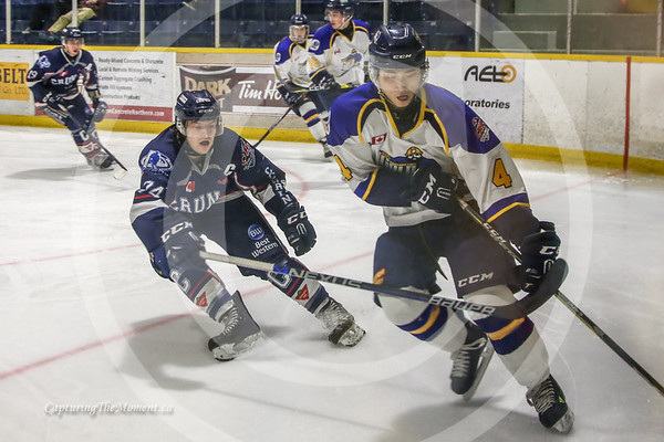 December 18th, Miners Vs Cochrane Crunch.