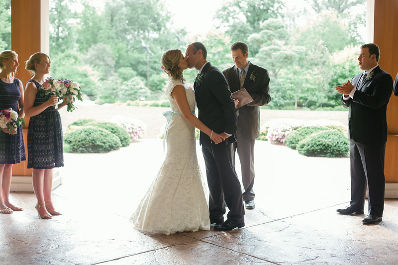A summer wedding at Anderson Japanese Gardens followed by a reception at Prairie Street Brewhouse in Rockford, IL by Mindy Joy Photography