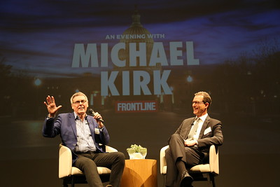 An Evening with Frontline's Michael Kirk