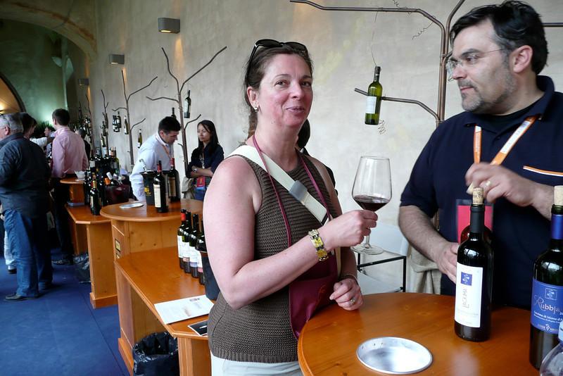 Il vino nel mondo. Spoleto, Umbria