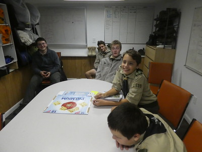 Troop Meeting - Oct 29