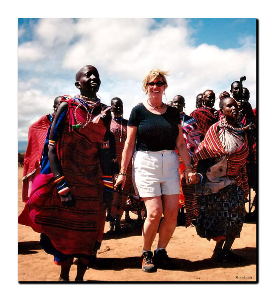 Beth And The Masai People  A True DIVA