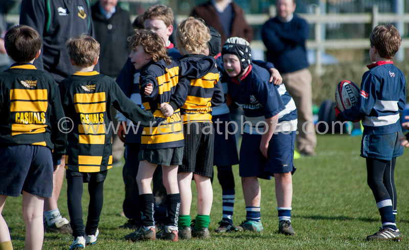 Under 9's Tournament, Franklin's Gardens, 11 March 2012