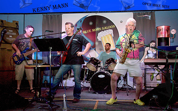 Open Mike Nite with Kenny Mann at the Blue Moon Saloon