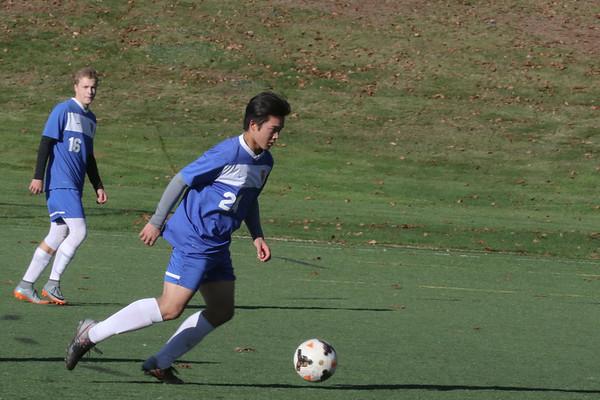 Boy's JV1 Soccer vs. High Mowing | November 8