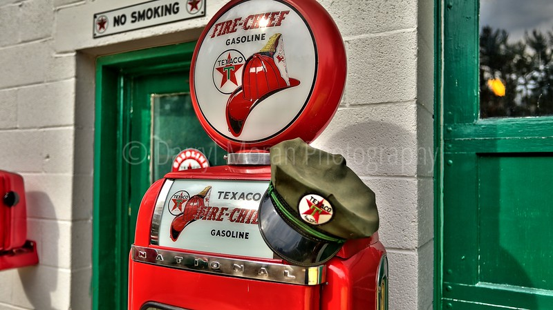 Vintage Texaco, 1956 T-bird and Truck (13).jpg