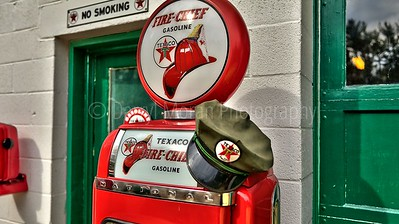 Vintage Texaco, 1956 T-bird and Truck