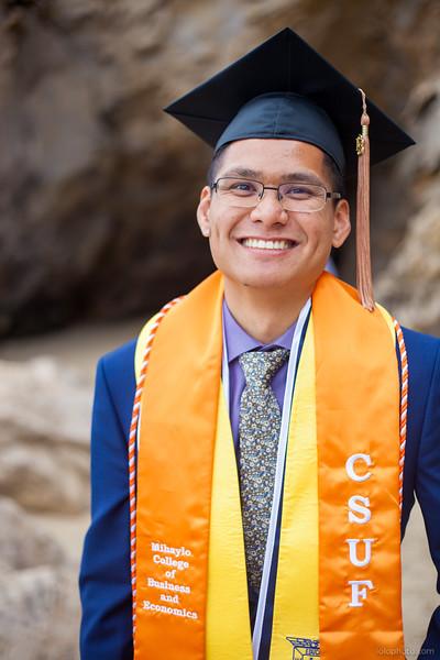 Andrew's Graduation Portraits