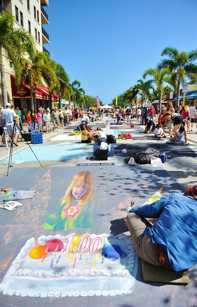 2013 Lake Worth Street Painting Festival