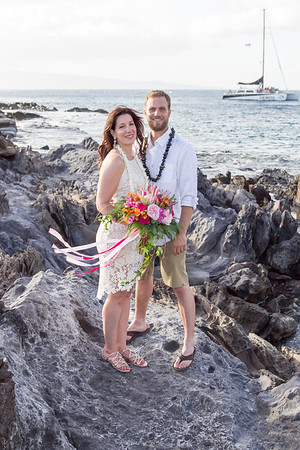 Carl & Jamie Wedding Photos Maui 2017