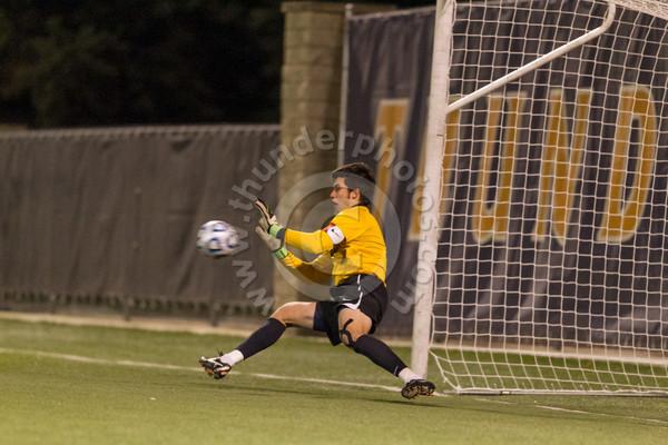 Wheaton College Men's Soccer vs North Park (1-1, 4-1 PK)/ CCIW Tournament Final