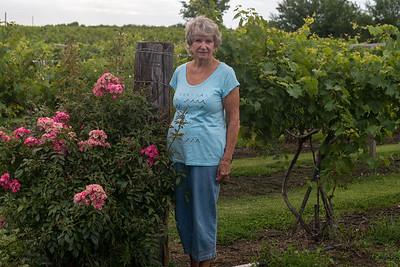 Caryl at Holy Field Winery