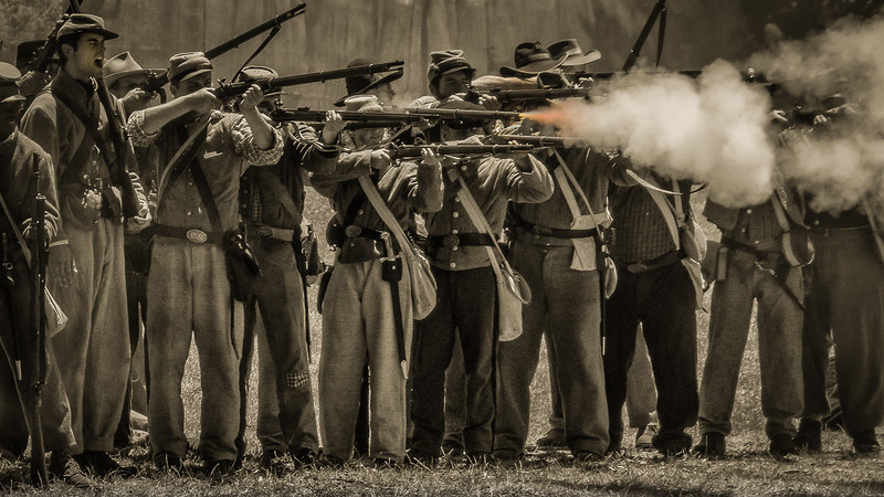 Civil War Reenactment - Duncan Mills