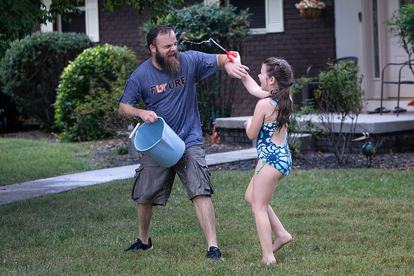 Water Fight at GMa's