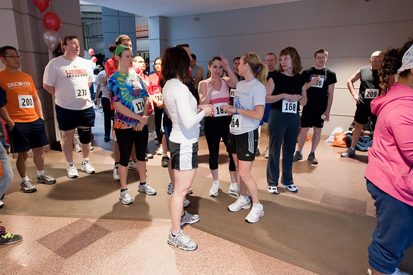 2010 Fight for Air Climb at Presidential Towers