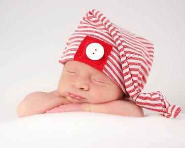 Nora's Newborn Peeks