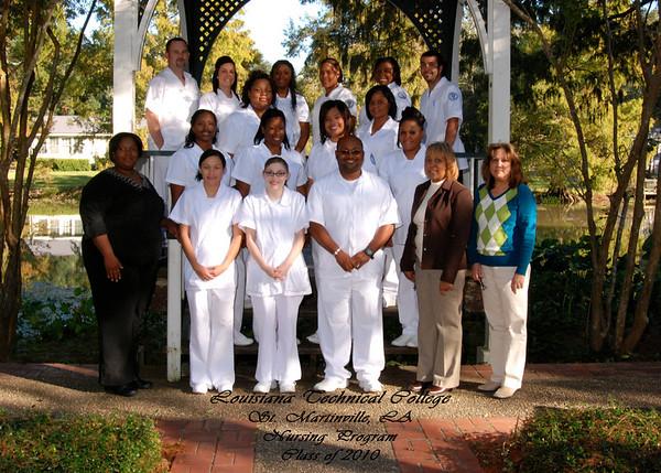 LA Technical College Nursing Program Class of 2010