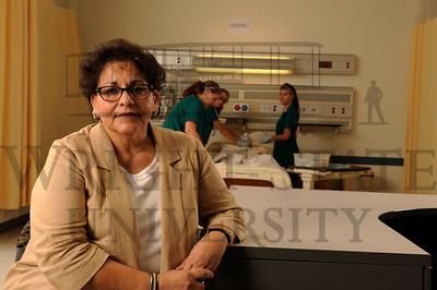 12289 College of Nursing donor Nel Martinez 9-19-13