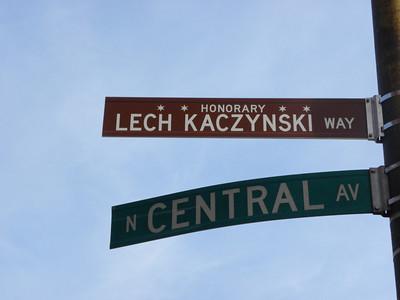 Aleja Lecha Kaczyńskiego w Chicago