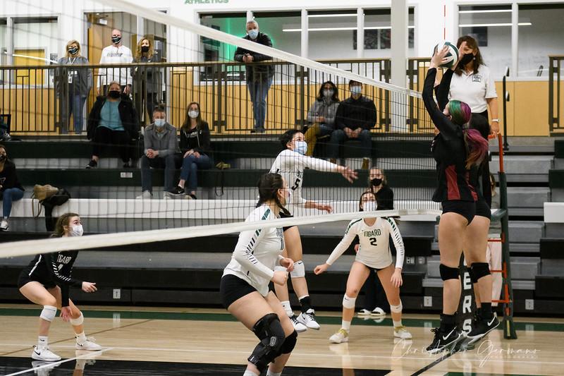 Tigard HS Varsity Volleyball vs Tualatin HS