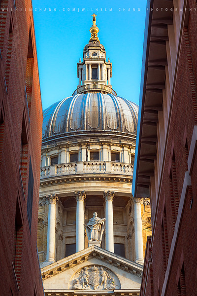 St. Paul's Cathedral -Framed 2