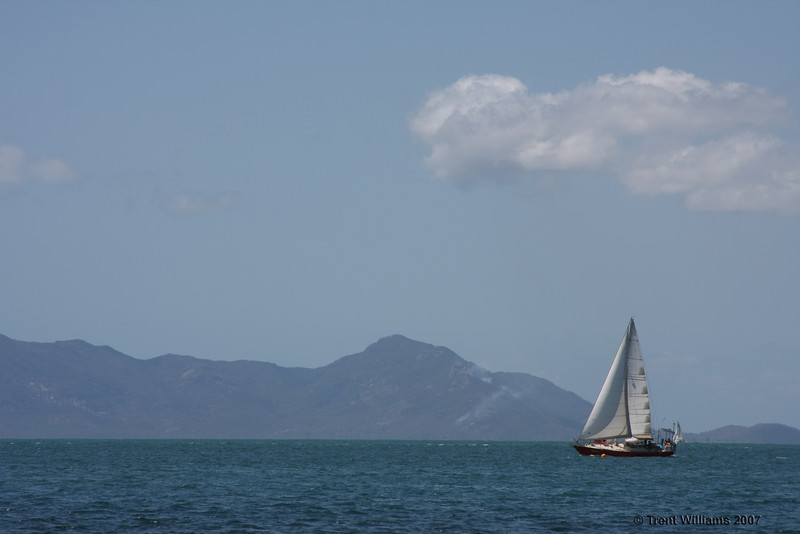 X-base on Magnetic Island. Photo by Trent Williams