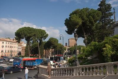 Forum Romanum i Koloseum