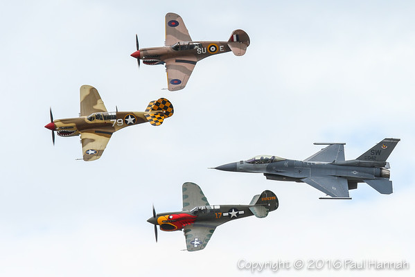 2016 Planes of Fame Airshow - Chino, CA