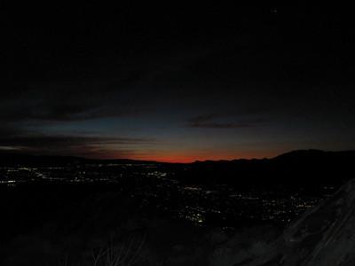 Skyline (Palm Springs to Tram) - Jan 16, 2011