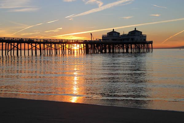 The iconic Malibu Pier