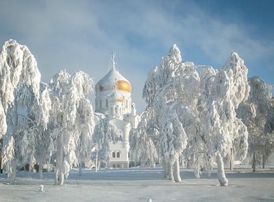 Андреева Тамара-Морозный день-Пейзаж