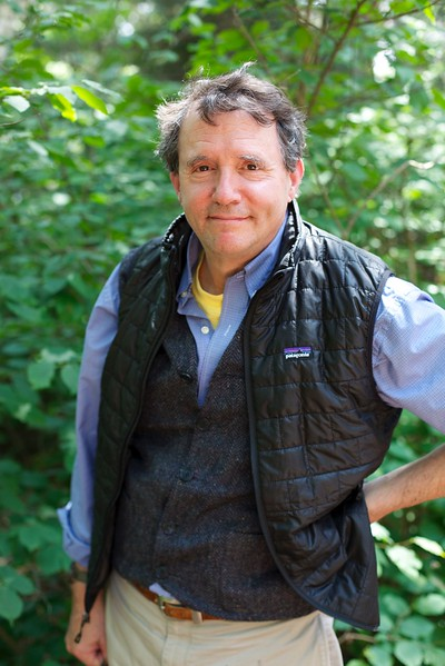 Dr. John Herman, Alumnus - moderator 'Spruce Root' chautauqua