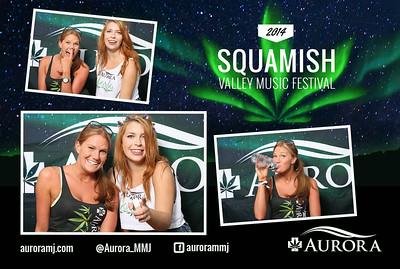 Squamish Festival 2014 - Aurora Postcard