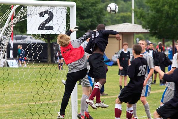 Tynecastle soccer v Rush