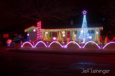 Voss' Christmas Lights