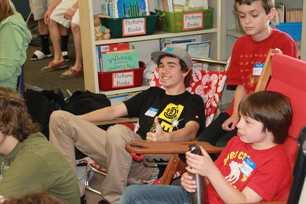 Read-A-Thon with TRHS and Hampstead Central