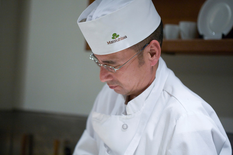 Yoshi - our sushi chef