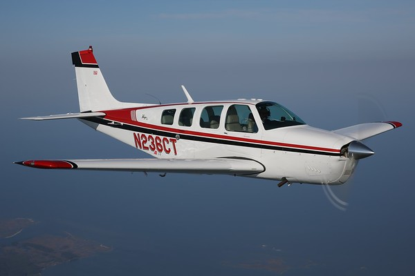 "1968 Beechcraft A36 ""Bonanza"", Norfolk, 03May20"