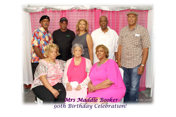 Mrs Maddie Booker 90th Birthday