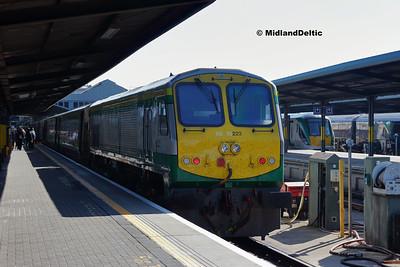 Portlaoise / Dublin (Rail), 21-04-2018