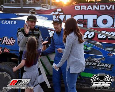 Grandview Speedway - 6/8/19 - Steve Sabo (SDS)