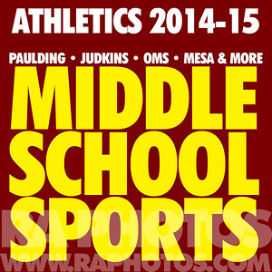 MIDDLE SCHOOL SPORTS 2014-15