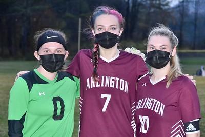 A Senior Moment...Girls Varsity Soccer photos by Gary Baker