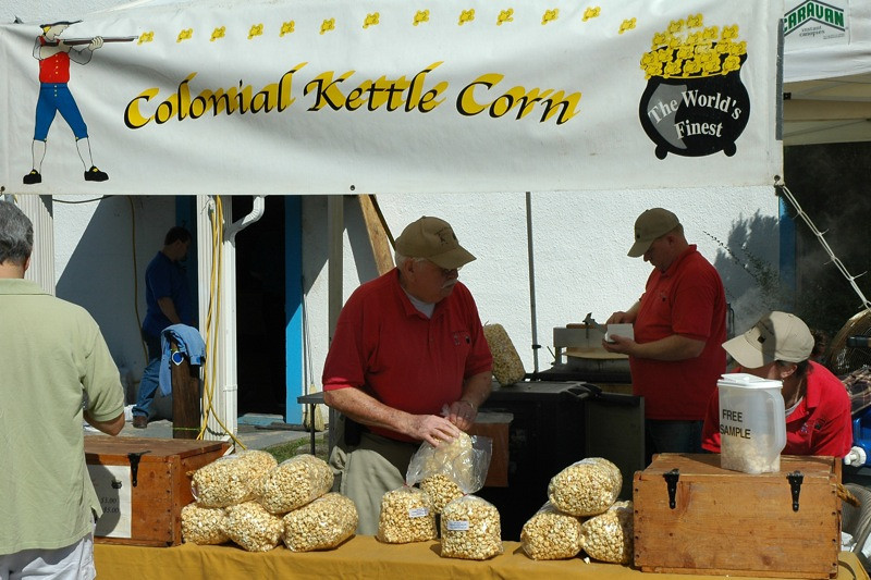 Kettle Corn -  Clifton Days, Virginia