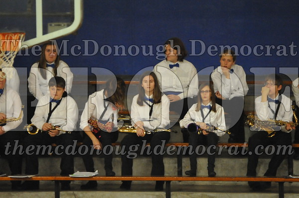 JH/HS Christmas Band Program 12-14-14