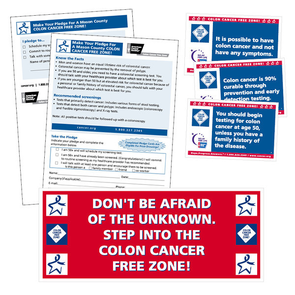 American Cancer Society Colon Cancer Free Zone