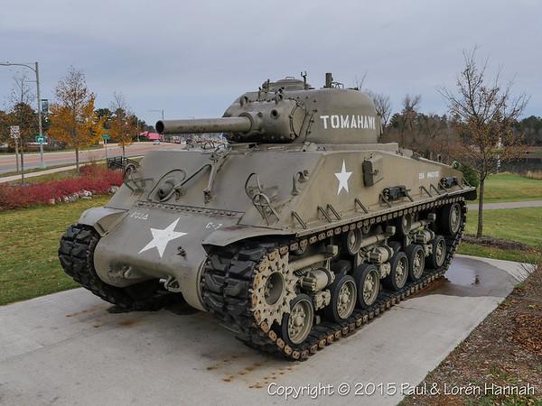 Memorial Park - Tomahawk, WI - M4A3(105)
