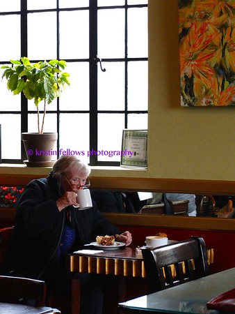 scenes from coffee houses
