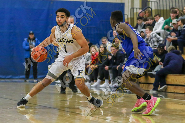 Foxboro-Randolph Boys Basketball - 02-18-20